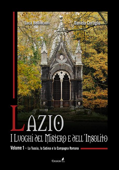Lazio. I luoghi del mistero e dell'insolito - Copertina